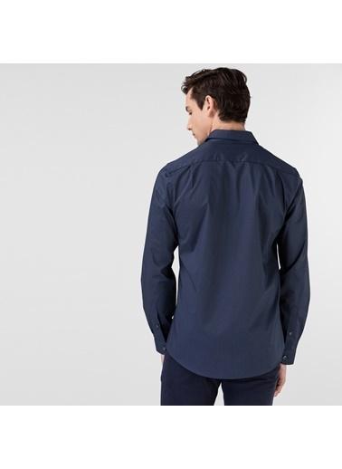 Lacoste Erkek Slim Fit Gömlek CH0151.51L Lacivert